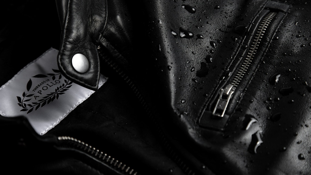 Threads of Apollo: Water Repellent Full-Grain Leather Jacket project video thumbnail