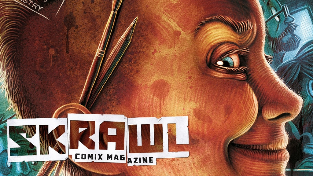 SKRAWL: Comix Magazine project video thumbnail