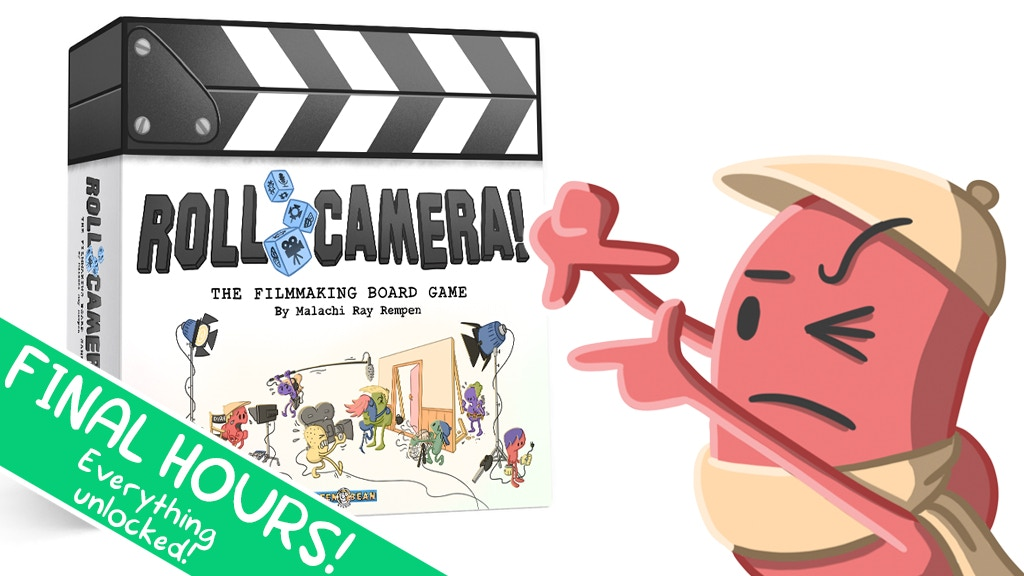 Roll Camera! The Filmmaking Board Game project video thumbnail