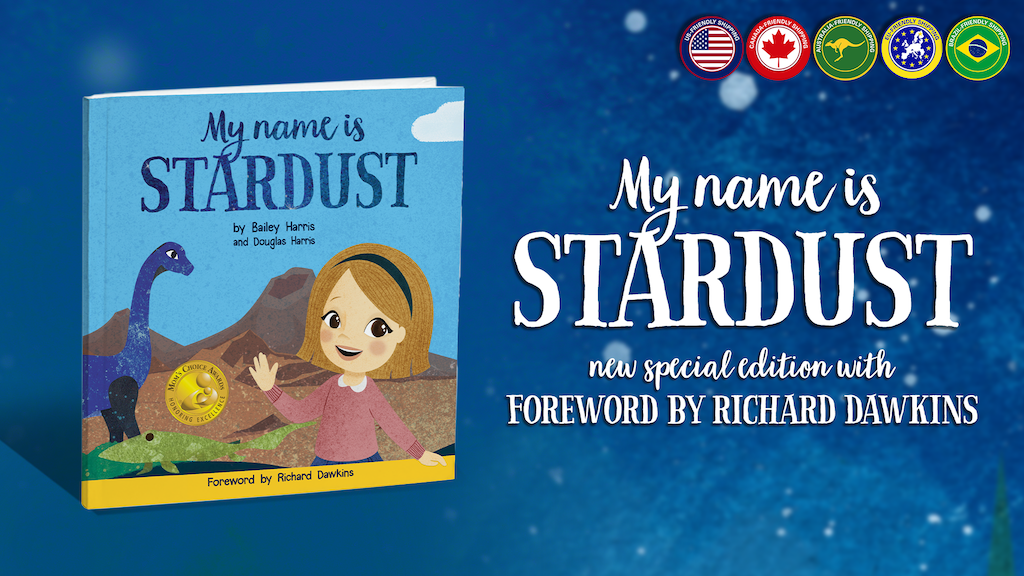 Stardust Special Edition | Foreword by Richard Dawkins project video thumbnail