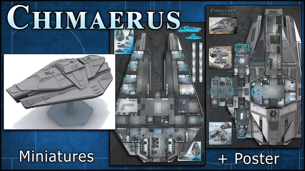 Chimaerus: Starship Maps & Miniature project video thumbnail