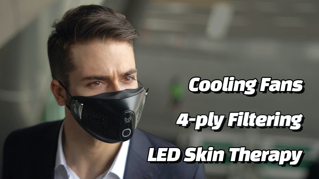 CX9 - The World's First Customizable Eco-friendly Smart mask