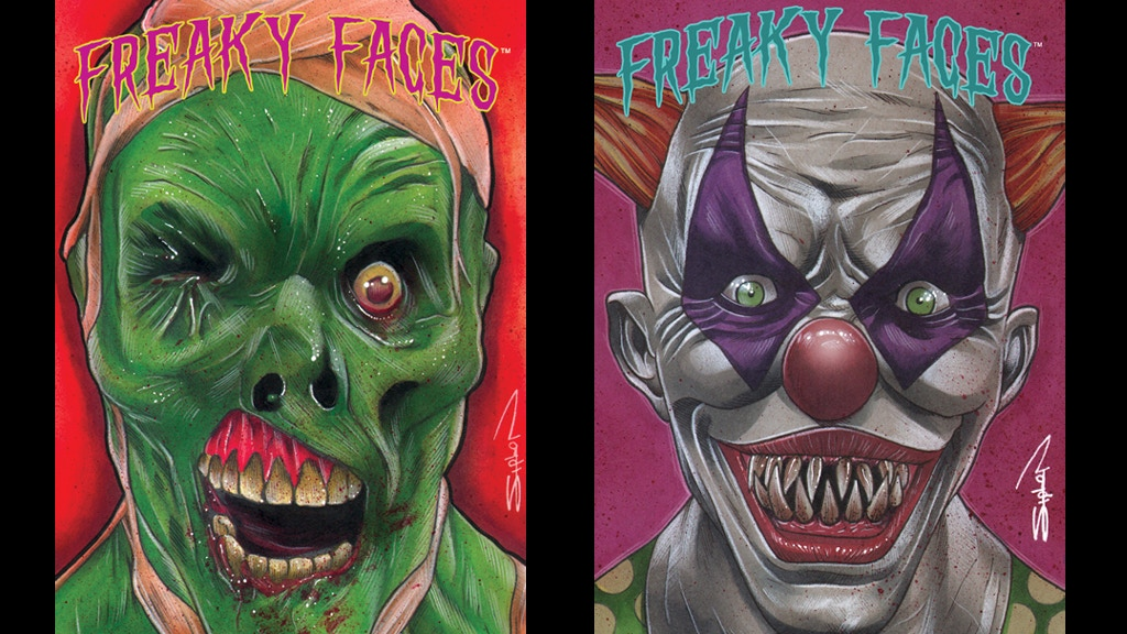 FREAKY FACES! Monster Trading Card Set By Randy Siplon! project video thumbnail