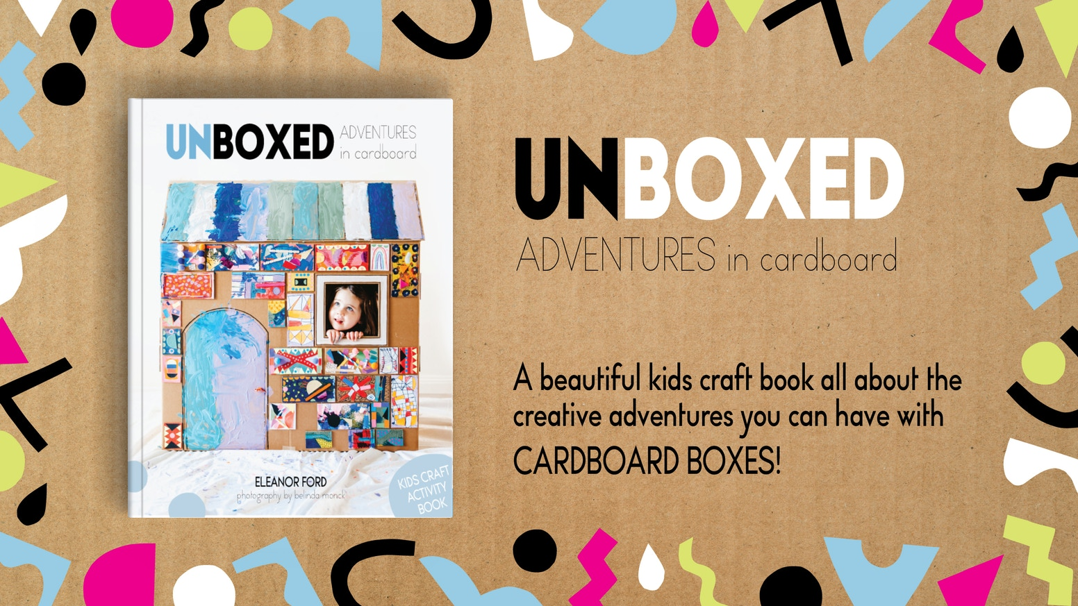 Ignite your child's imagination and creativity with our beautiful craft book. Now available to pre-order through our website.