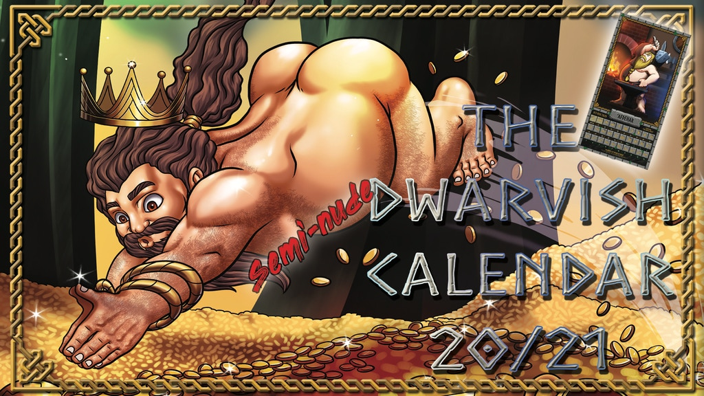 The Semi-Nude Dwarvish Calendar 2020/2021 project video thumbnail