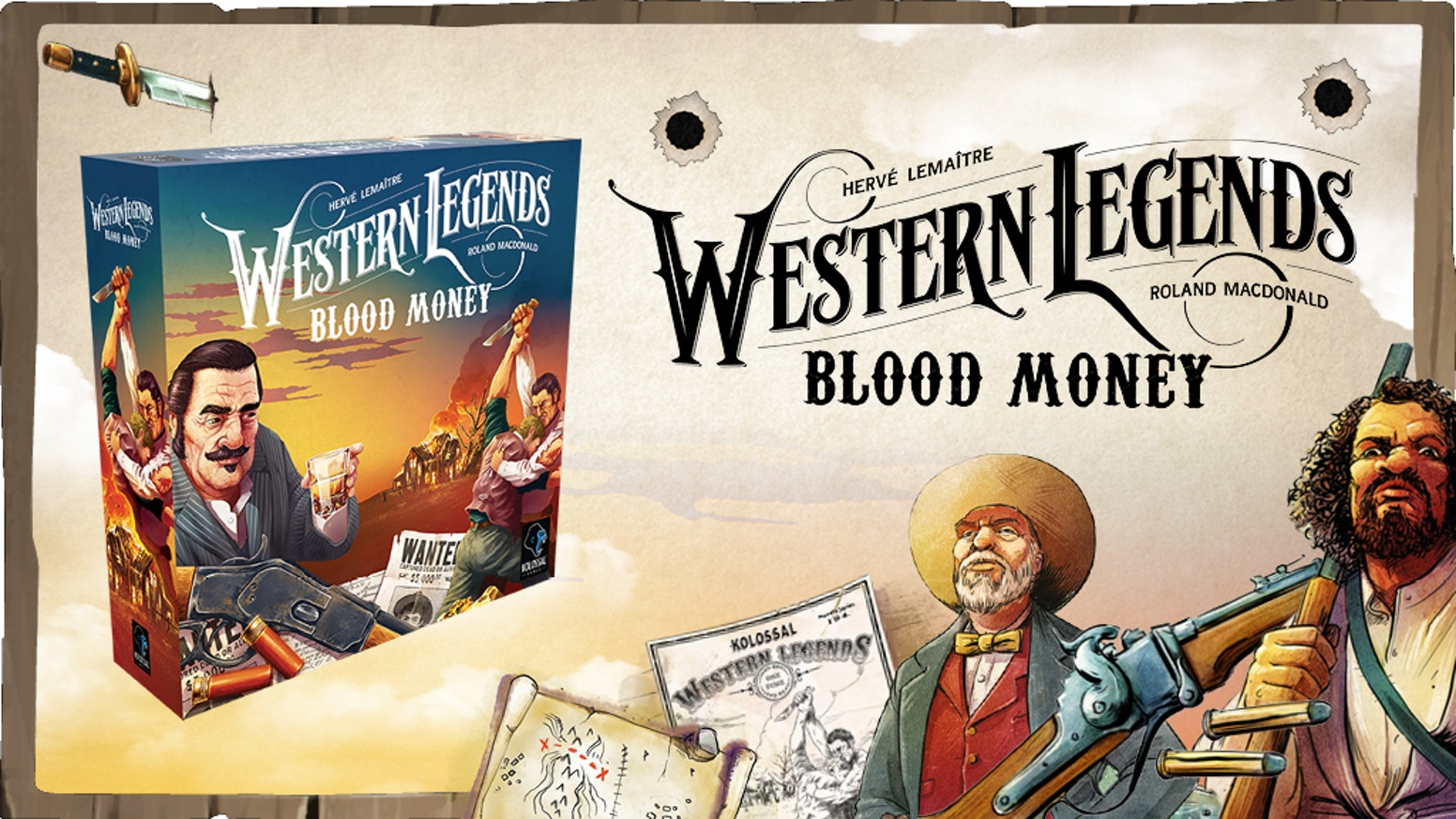 Enter the final chapter in the Western Legends saga, Blood Money. Adventure lovers, add the risk you have been looking for!