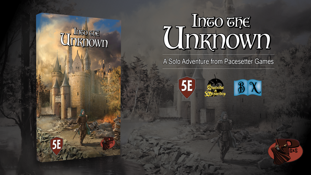 Into the Unknown: A Solo Campaign for 5e, B/X, and S&W! project video thumbnail