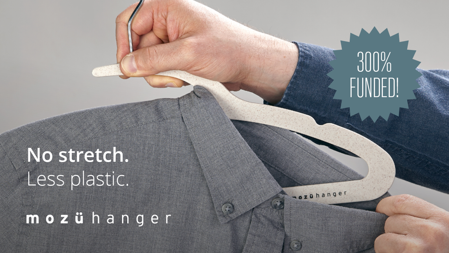 Slim, Earth-friendly hangers with an innovative notch that eliminates the stretching of collars.