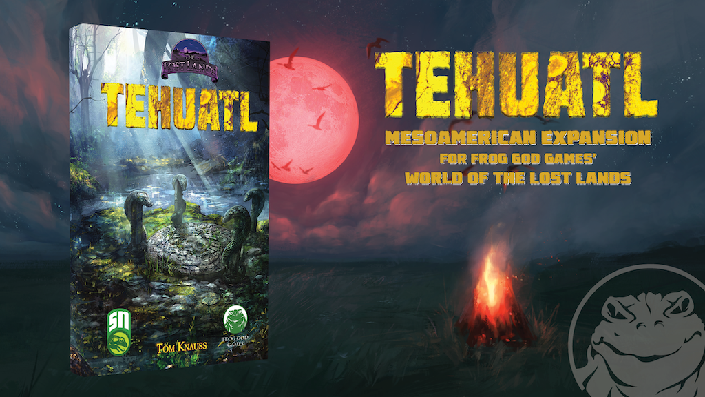 Lost Lands: Tehuatl project video thumbnail