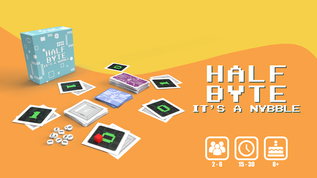 Project image for Half Byte! It's a Nybble - A fast paced strategy game.