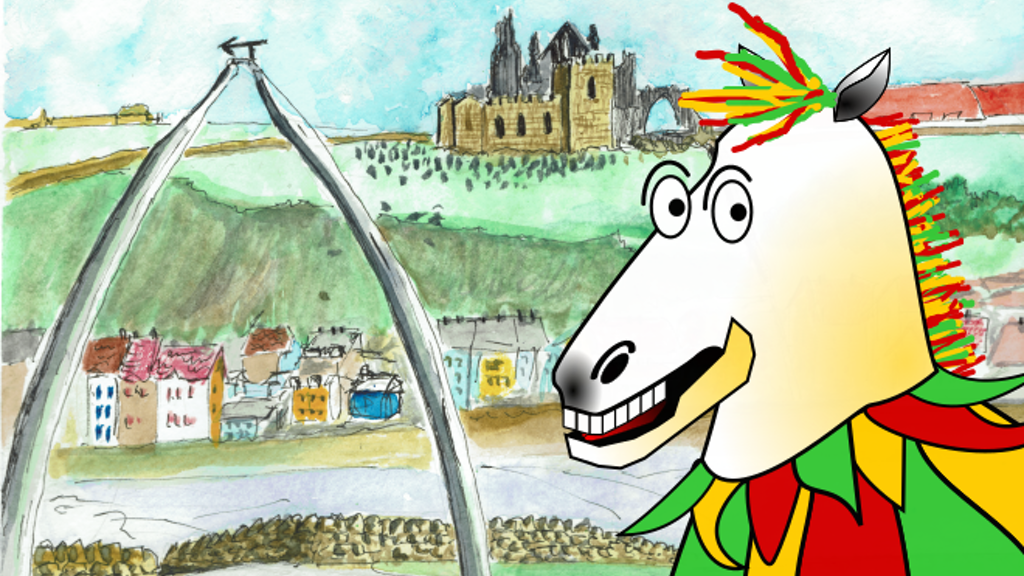 Project image for Giddy Up at Whitby Book
