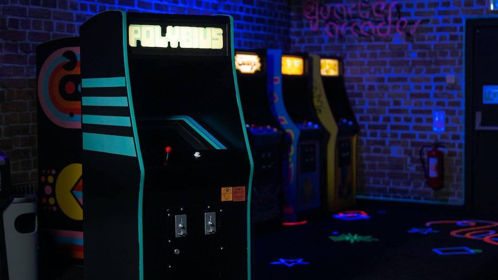 The Polybius Quarter Scale Arcade cab project video thumbnail