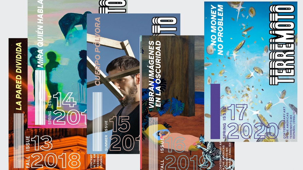 Terremoto Issue 19: Revista & Programas digitales project video thumbnail