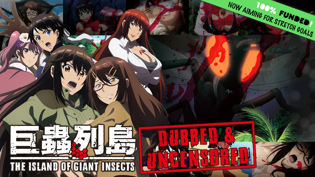 The Island of Giant Insects DUBBED & UNCENSORED project video thumbnail