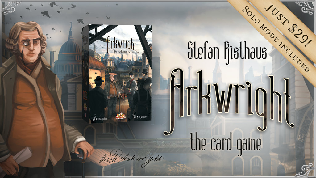 Arkwright the Card Game project video thumbnail