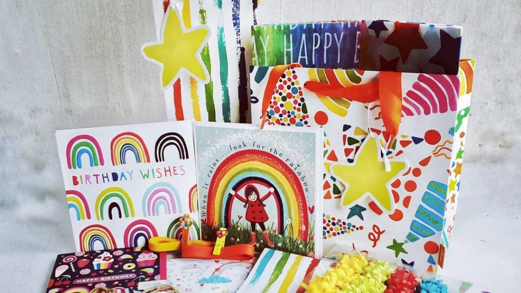 Local Cards & Gift Wrap biz to Create Pop-Up Shop at home project video thumbnail