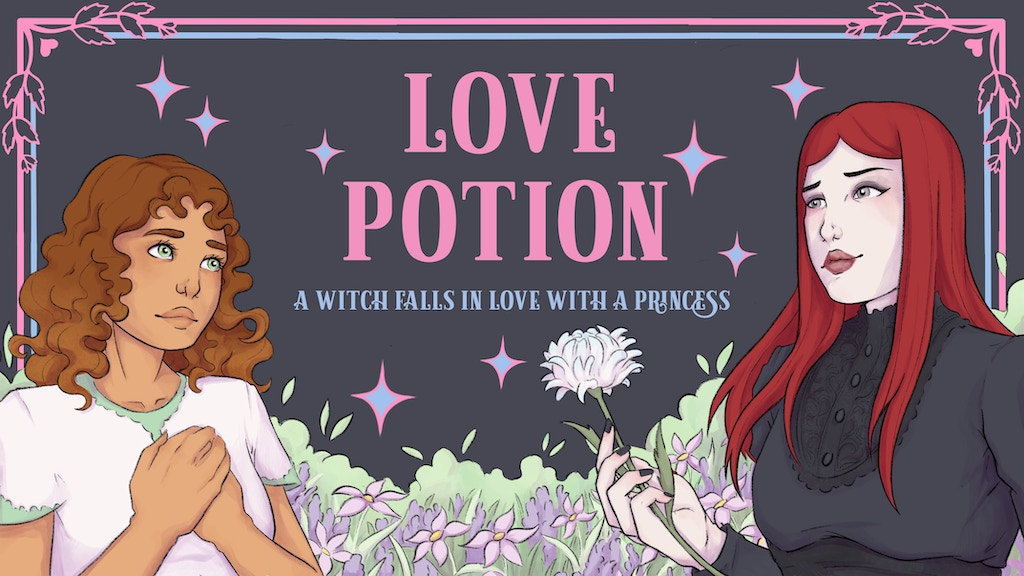 Project image for Love Potion: An Illustrated LGBT Novel