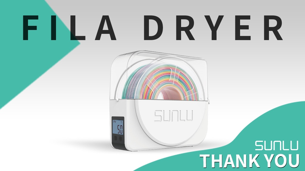 FilaDryer S1: The Most Cost-effective 3D Filament Dryer Box project video thumbnail