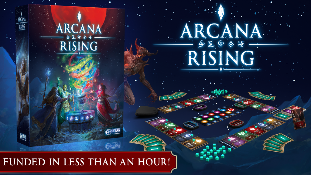 Arcana Rising project video thumbnail