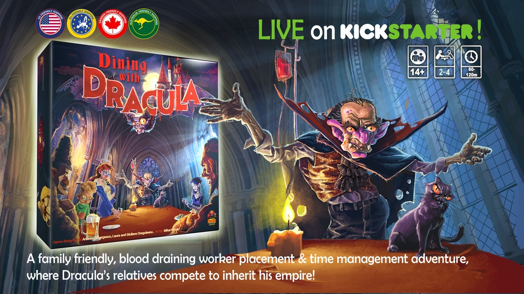 Dining with Dracula project video thumbnail