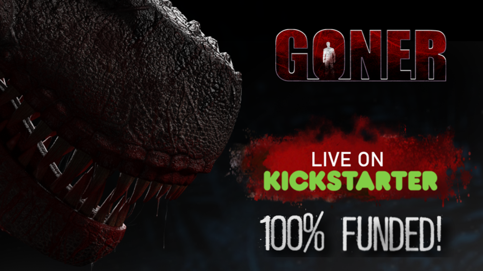 Goner is a new single player survival horror videogame featuring dinosaurs as your main threat.
