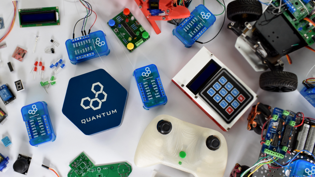 Quantum: The IoT Platform for Makers! project video thumbnail