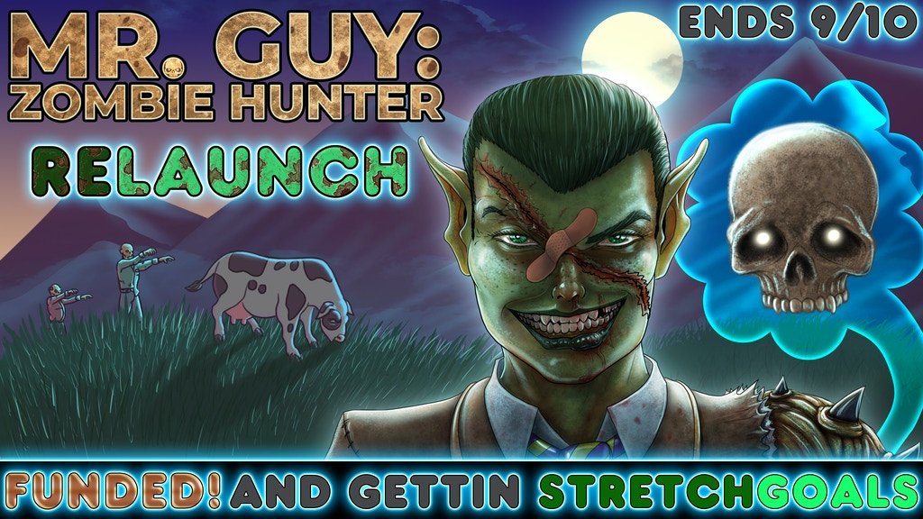 Mr. Guy: Zombie Hunter & the Origins Anthology - ReLaunch! project video thumbnail
