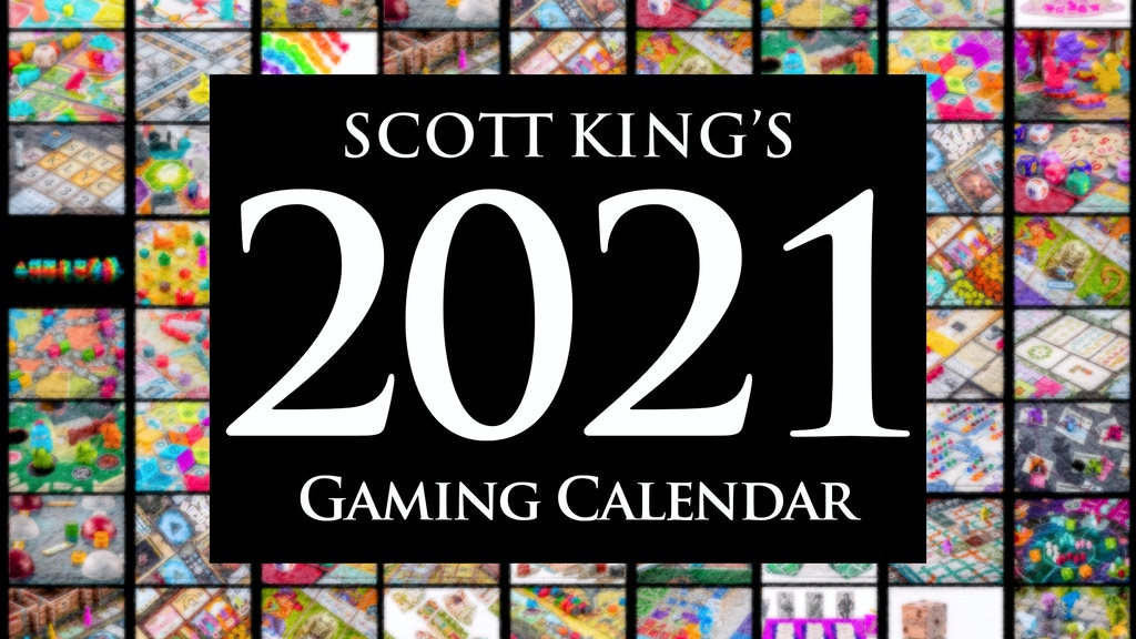 The 2021 Gaming Calendar project video thumbnail