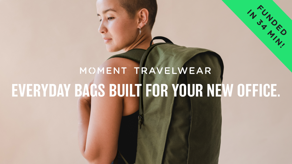 Moment Travelwear: Bags To Work Anywhere, Travel Everywhere. project video thumbnail