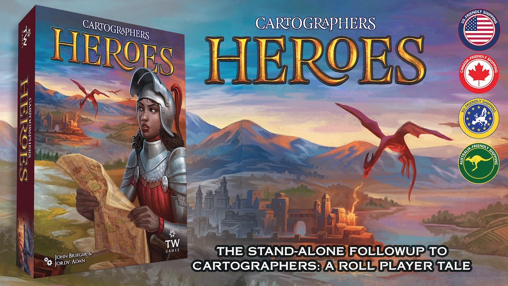 Cartographers Heroes + 3 Map Pack Expansions project video thumbnail