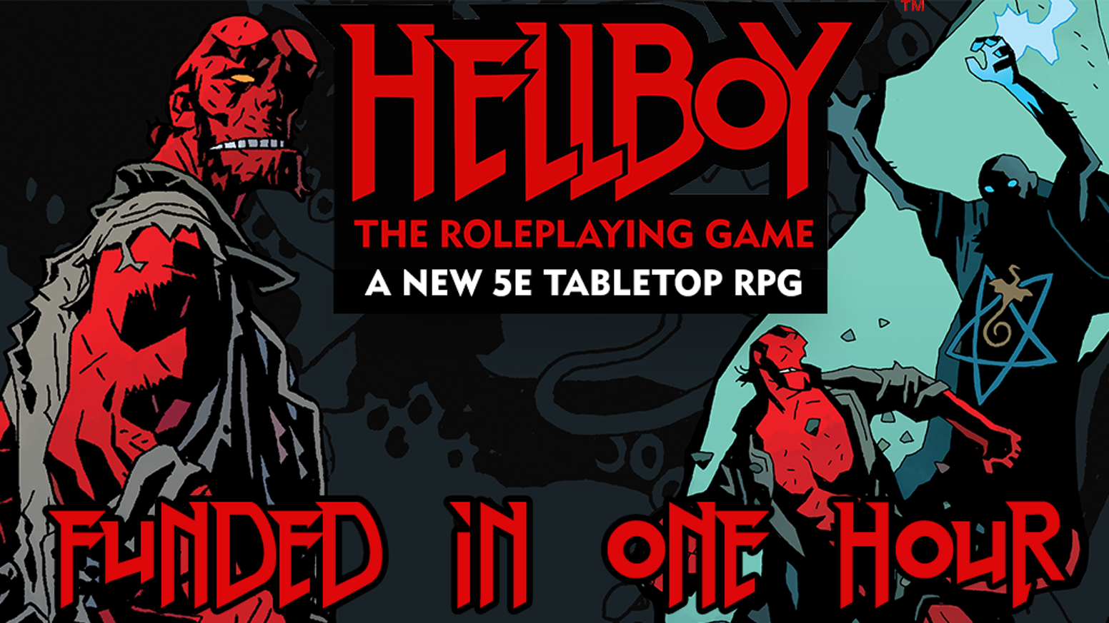 A brand-new Hellboy roleplaying experience, based on the visionary Hellboy graphic novels by Mike Mignola and powered by 5th Edition.