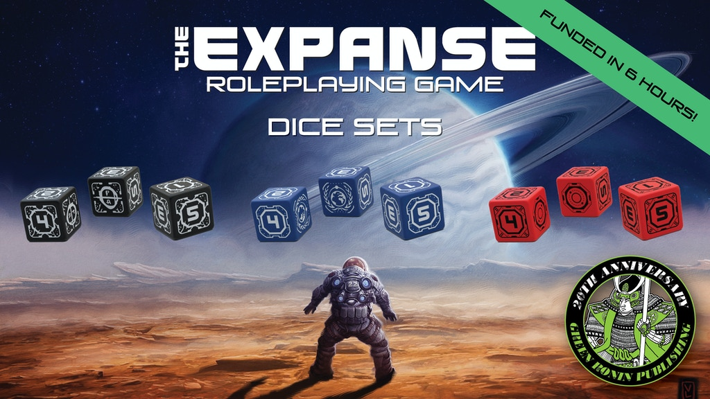 The Expanse RPG Dice Sets project video thumbnail
