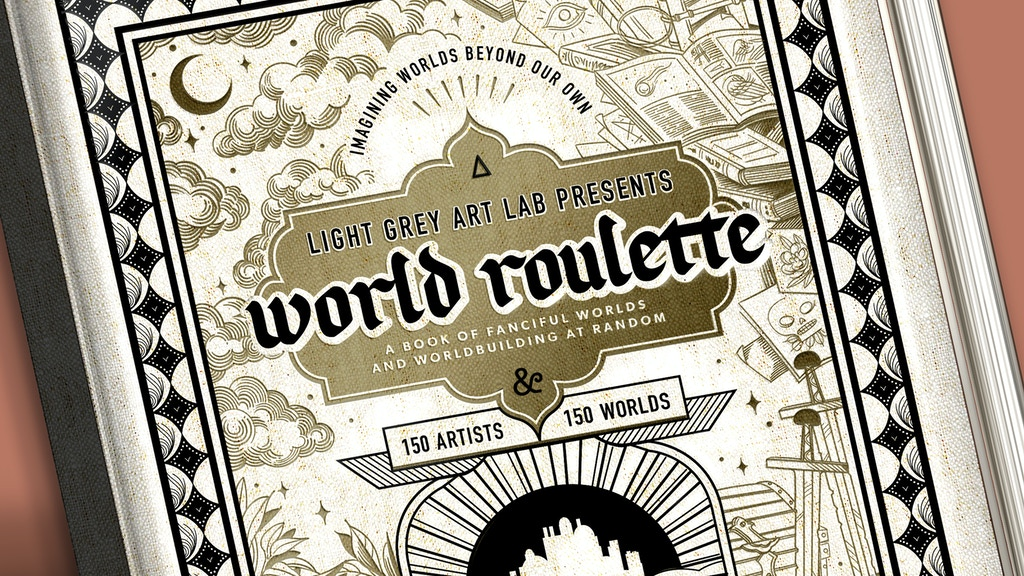 Project image for World Roulette: 150 Worlds Art Book & Worldbuilding Guide