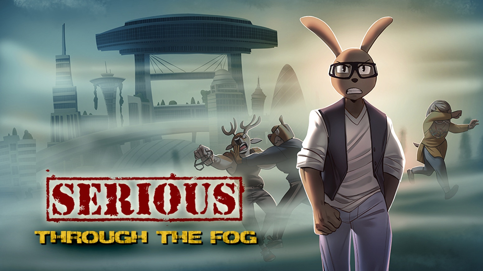In a world struck by a pandemic, a young rabbit must navigate fear, chaos and self doubt and lead his friends to their dreams.