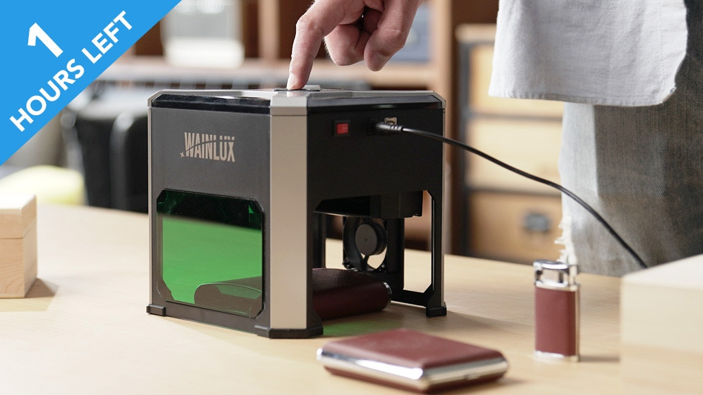 Wainlux K6: Engrave Your Creativity Anytime project video thumbnail