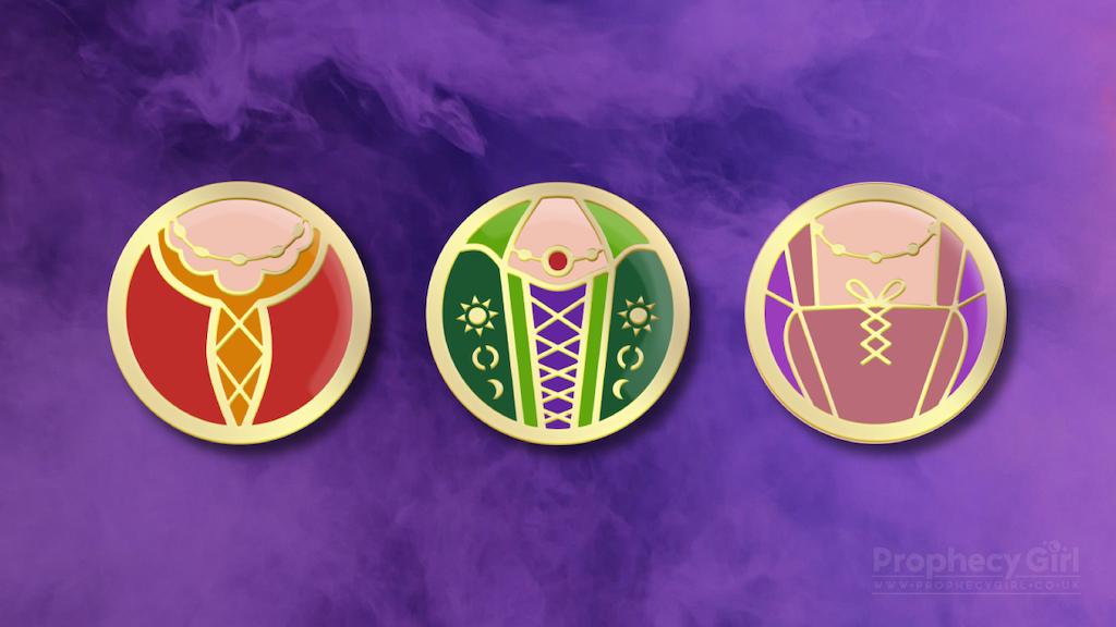 Project image for Amok! Amok! Amok! Pin Badge Set