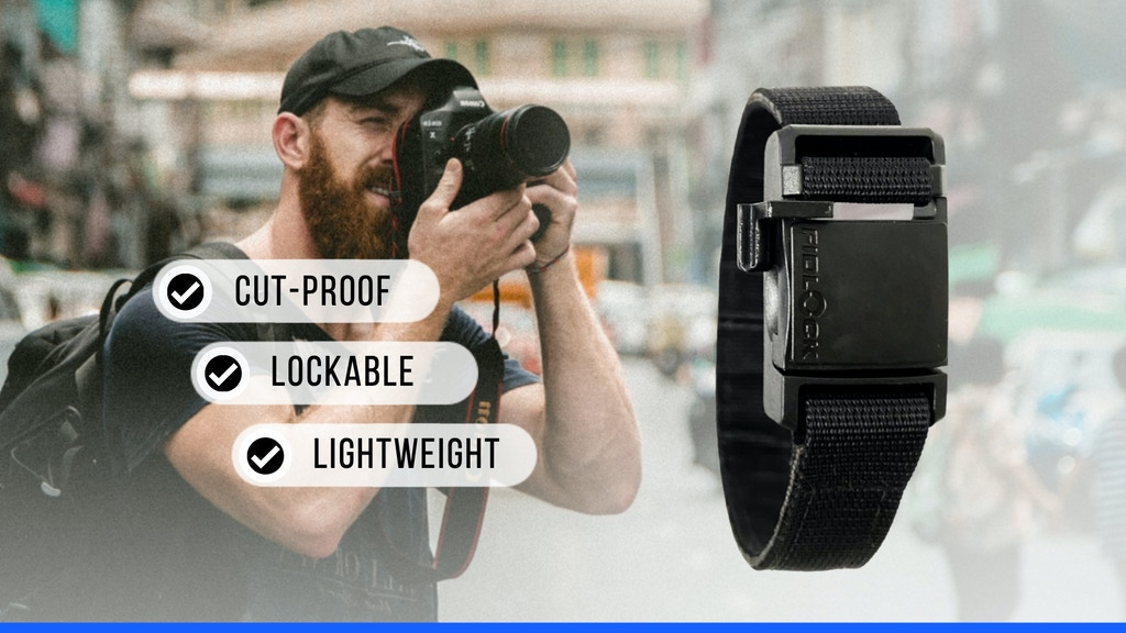 LOOPIT : Backpack Anti-Theft Magnetic Strap project video thumbnail