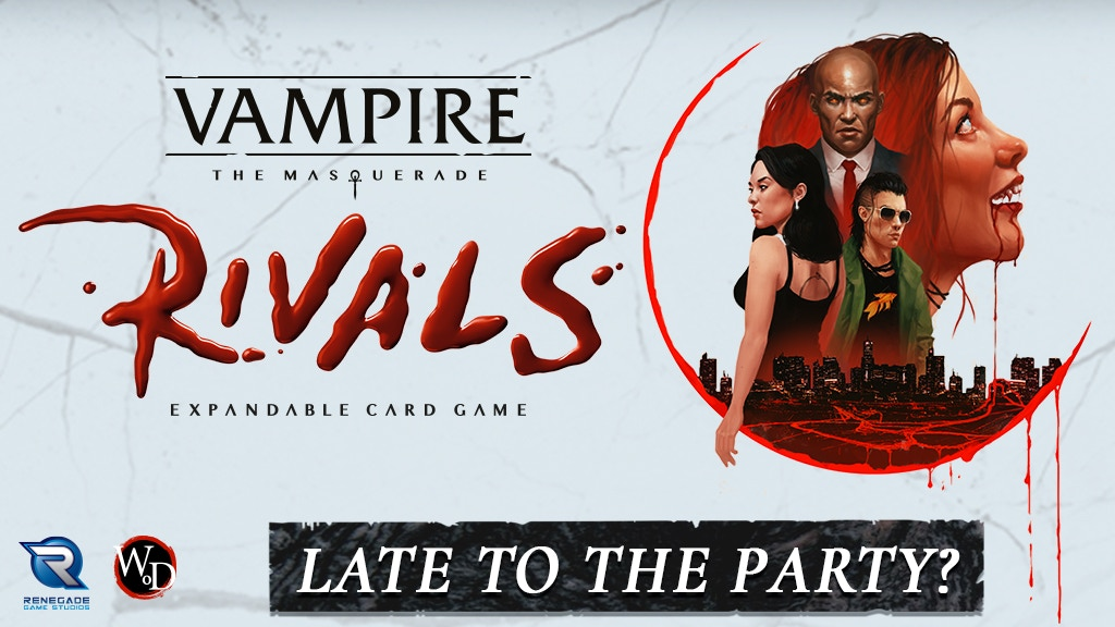Vampire: The Masquerade Rivals Expandable Card Game project video thumbnail