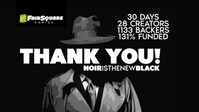 A collection of Noir stories by Black creators