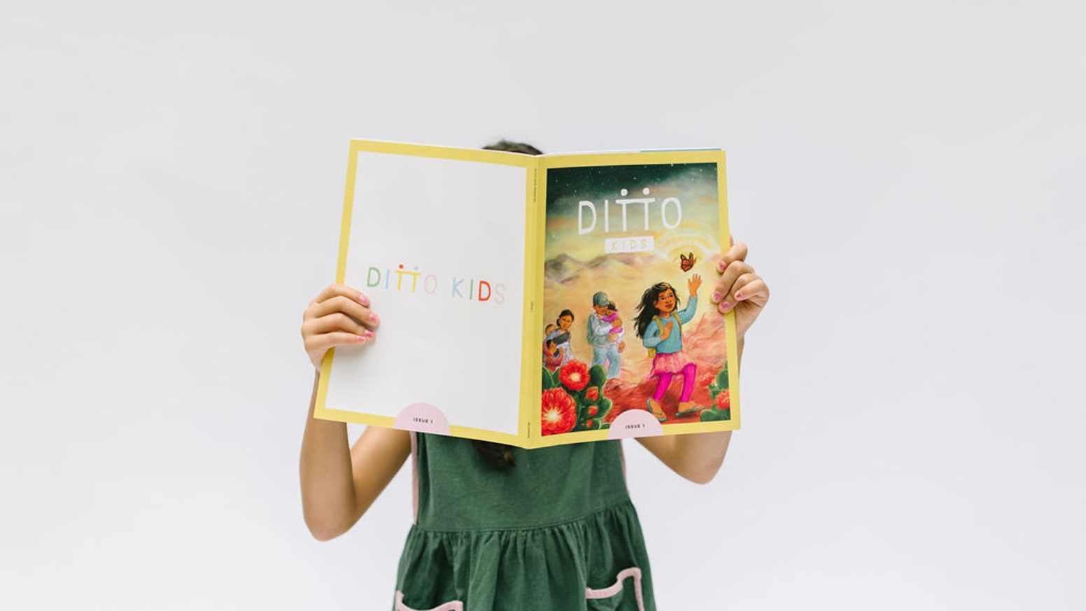 A magazine that empowers parents and educators to help the children in their lives on their journey to becoming actively anti-racist. We are officially funded! We are now accepting pre-orders at www.dittokidsmagazine.com.