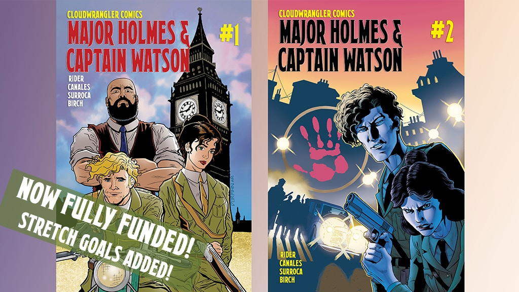 Major Holmes & Captain Watson Issues #1-2! project video thumbnail