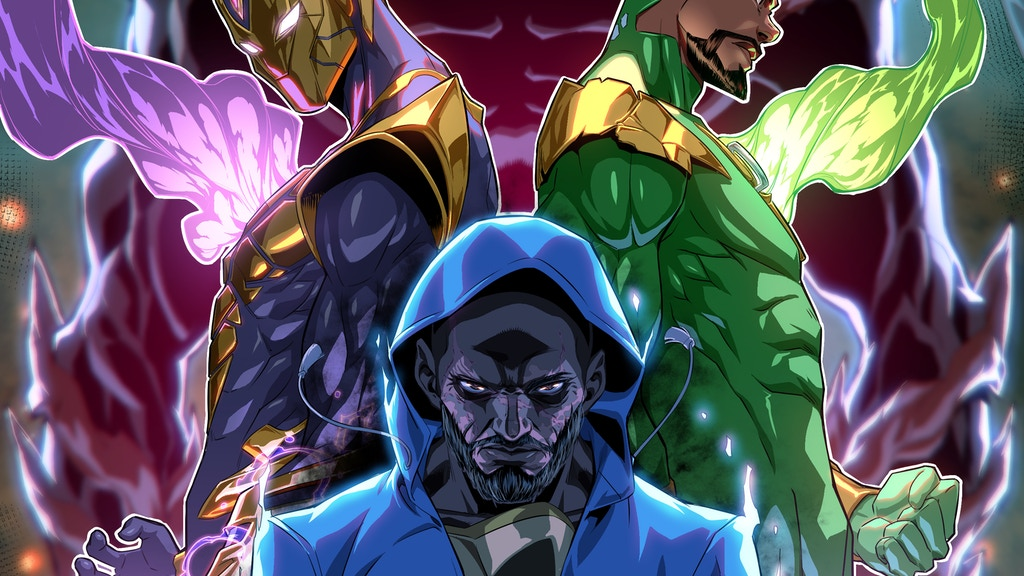 OKEMUS: AN ACTION PACKED SENTAI SCI-FI COMIC SERIES project video thumbnail