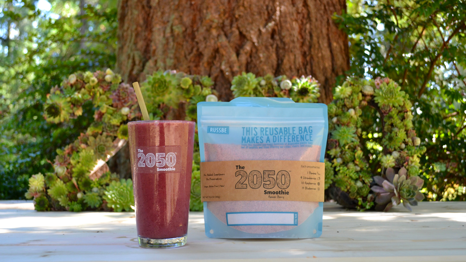 Sustainable. Nutritious. Convenient. Prepare a delicious frozen smoothie from rescued produce in under 60 seconds!