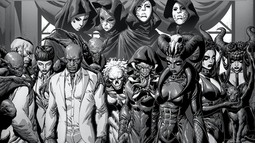 Crescent City Monsters Vol.1 - Urban Horror Graphic Novel project video thumbnail