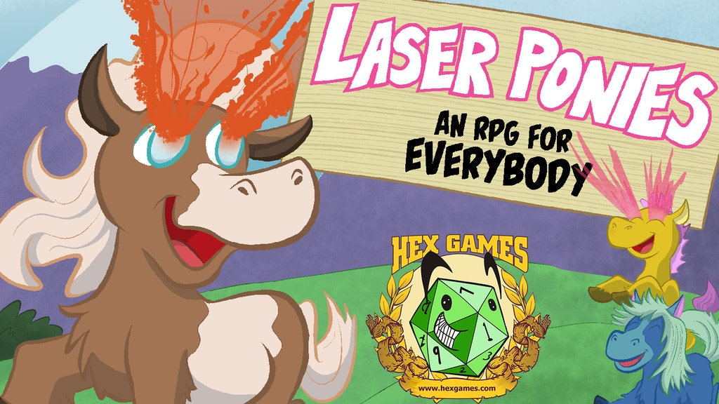 Project image for Laser Ponies: An RPG for Everybody