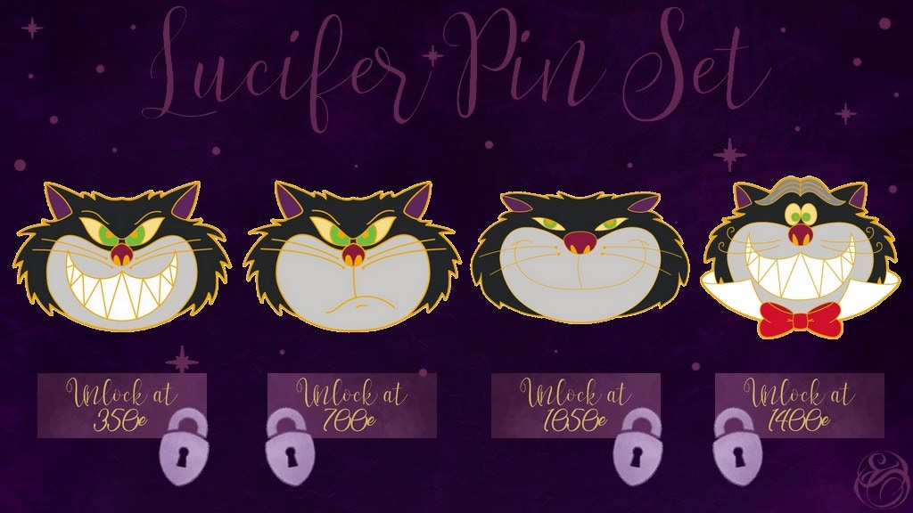 Project image for Lucifer Pin Set
