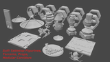 Sci-fi modular 3D printable tabletop figures & objects thumbnail
