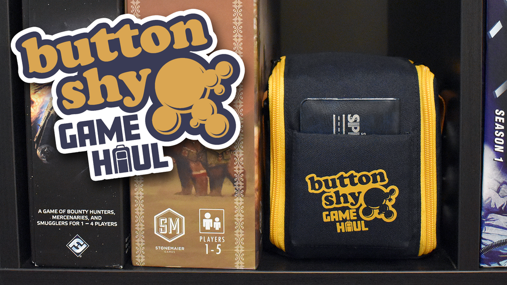 Button Shy Game Haul Bag project video thumbnail