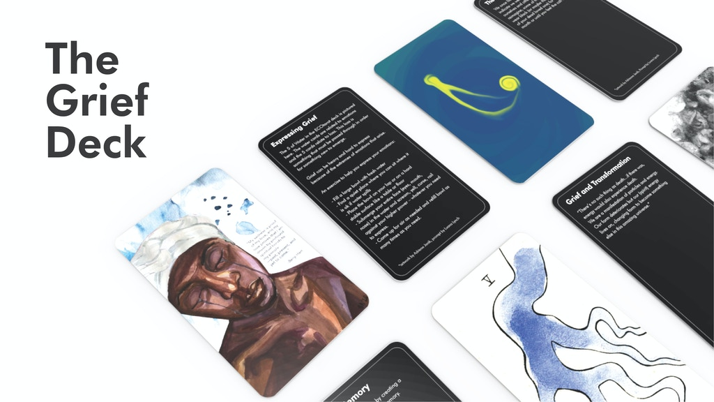 Grief Deck - An Artists' Card Set for Communal Grieving project video thumbnail
