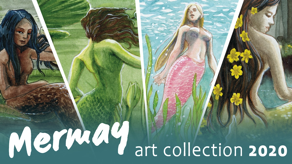 Mermay art collection 2020 project video thumbnail
